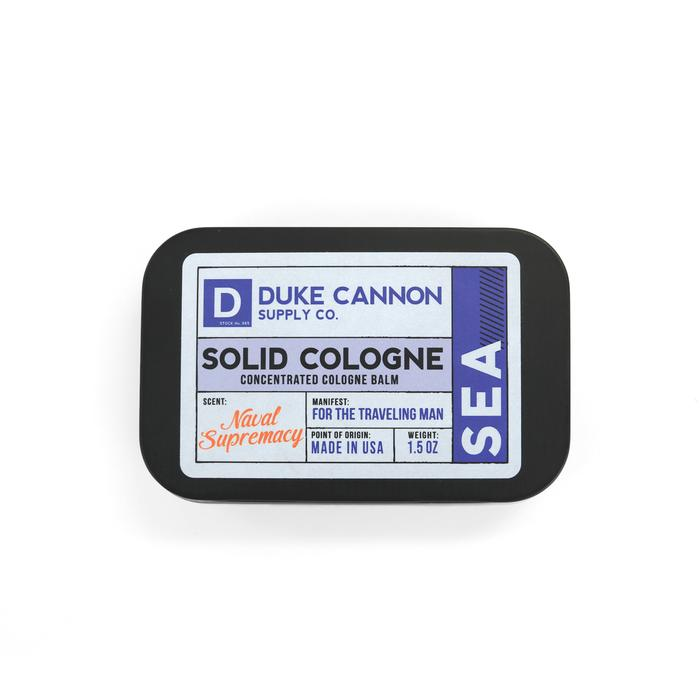 Duke Cannon's Solid Cologne - Sea