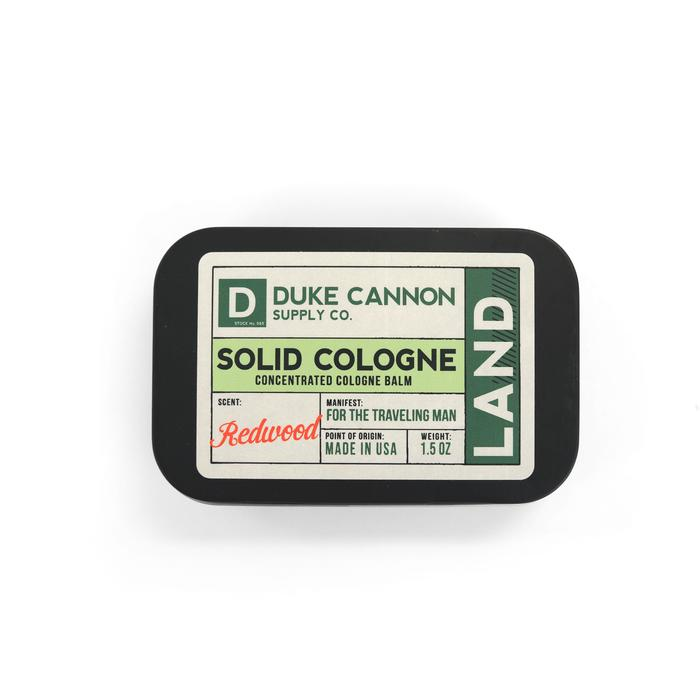 Duke Cannon's Solid Cologne - Land