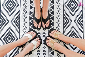 Clover Flip Flop - Available in 3 Colors!