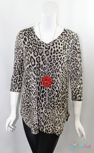 Layla Leopard Top