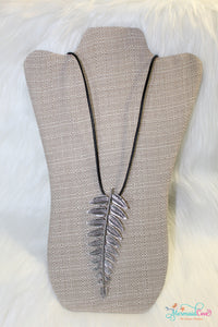 Leaf Metal Necklace FINAL SALE