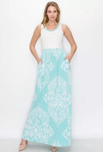Leave A Little Sparkle Maxi Dress
