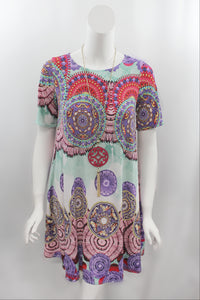 Lively Lavender Shift Dress