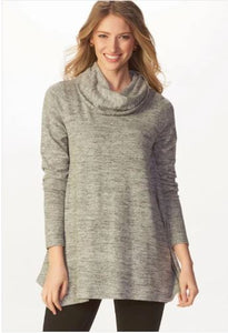 Soft Luxe Cowl Neck Top
