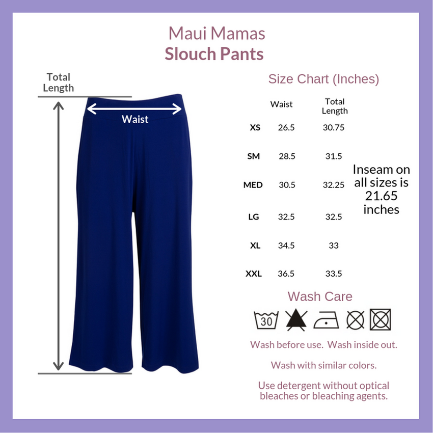 Midnight Slouch Pant
