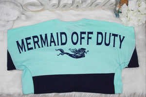 Mermaid Off Duty Color-Block Jersey