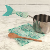 Mermaid Tail Dishtowel Spoon and Handle Cover