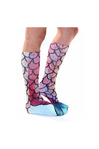 Knee High Mermaid Socks