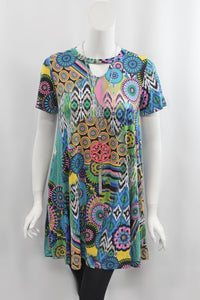 Miami Nights Short Sleeve Dress