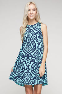 Morning Sky Tunic Dress