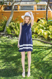 Nautical Swing Dress