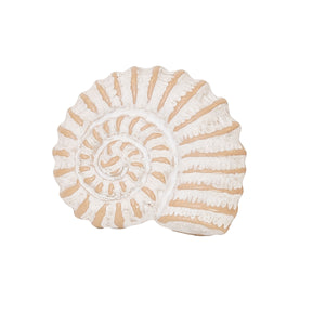 Nautilus Whitewashed Napkin Ring