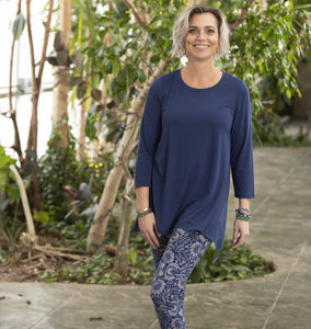 Navy Blue Essential Tunic