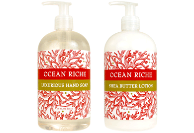 Botanical Spa Products - Ocean Riche