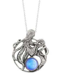 LeightWorks Octopus Pendant - Blue