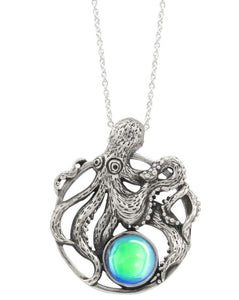 LeightWorks Octopus Pendant - Green