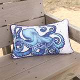 Octopus Accent Pillow