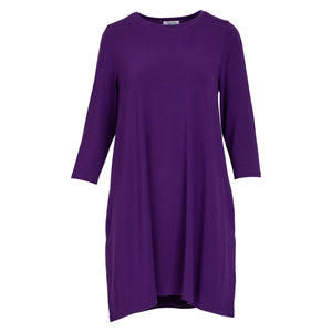 Oh So Soft Perfectly Purple Tunic Dress