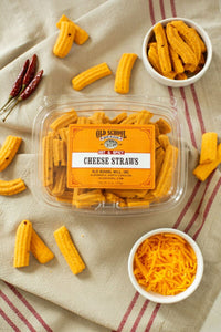 Hot & Spicy Cheese Straws