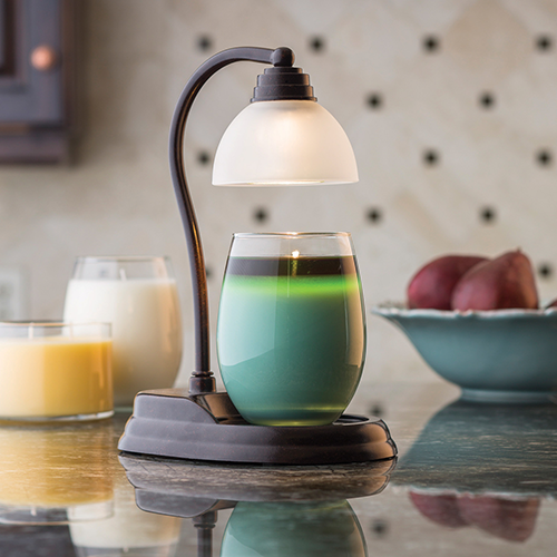Bronze Aurora Candle Warmer Lamp