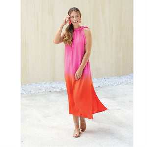 Karen Maxi Dress - Pink Ombre