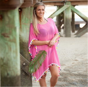 Pom-Tastic Cover Up - Available in 4 Colors!