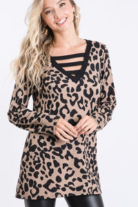 Pippa Leopard Top