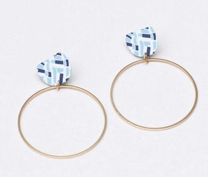 Poise All Squared Away Earrings