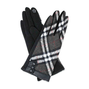 Presley Plaid Gloves - Available in 3 Colors!