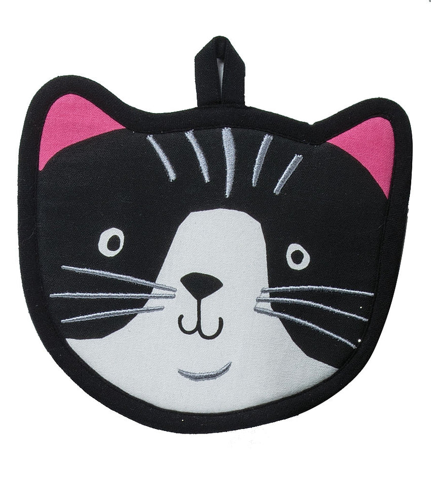 Crazy Cat Shaped Potholder
