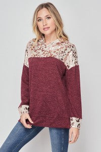 Ramona Hooded Top