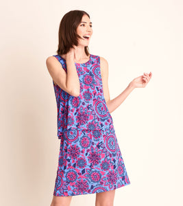 Roberta Dress - Mandala Flowers