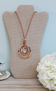 Rose Gold Rope Necklace