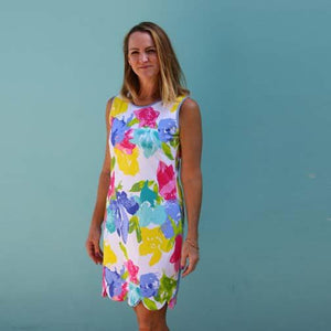 K!K! Reversible Ladies Dress Fascination Floral