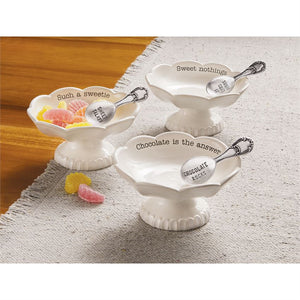 Scallop Candy Dish Sets