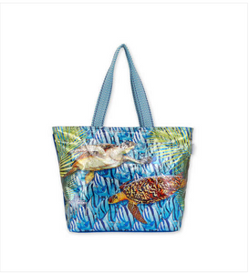 Under The Sea Turtles Tote
