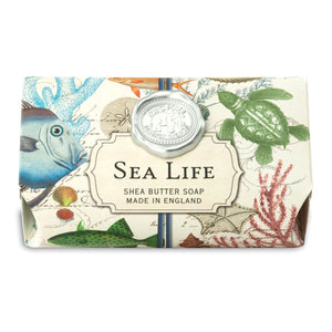 Sea Life Large Bath Soap Bar