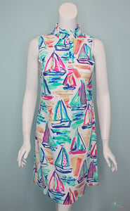 Set Your Sails Sleeveless Dress