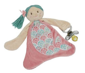 Shellie the Mermaid Pacifier Blankie