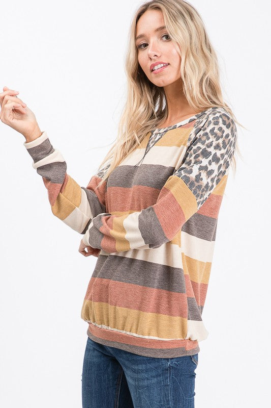 Soft Stripes Top