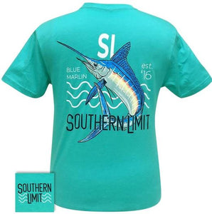 Men's Southern Limit Blue Marlin Tee