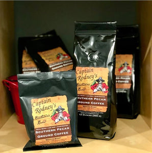 Captain Rodney's Private Reserve - Southern Pecan Ground Coffee