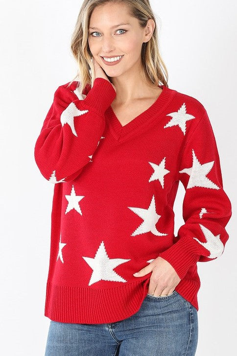 Stars Align Sweater - Available in 3 Colors