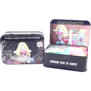 Make your Own Mermaid or Pirate Ship Tin Set