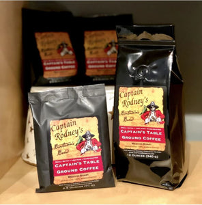 Captain Rodney's Private Reserve - Captain's Table Ground Coffee