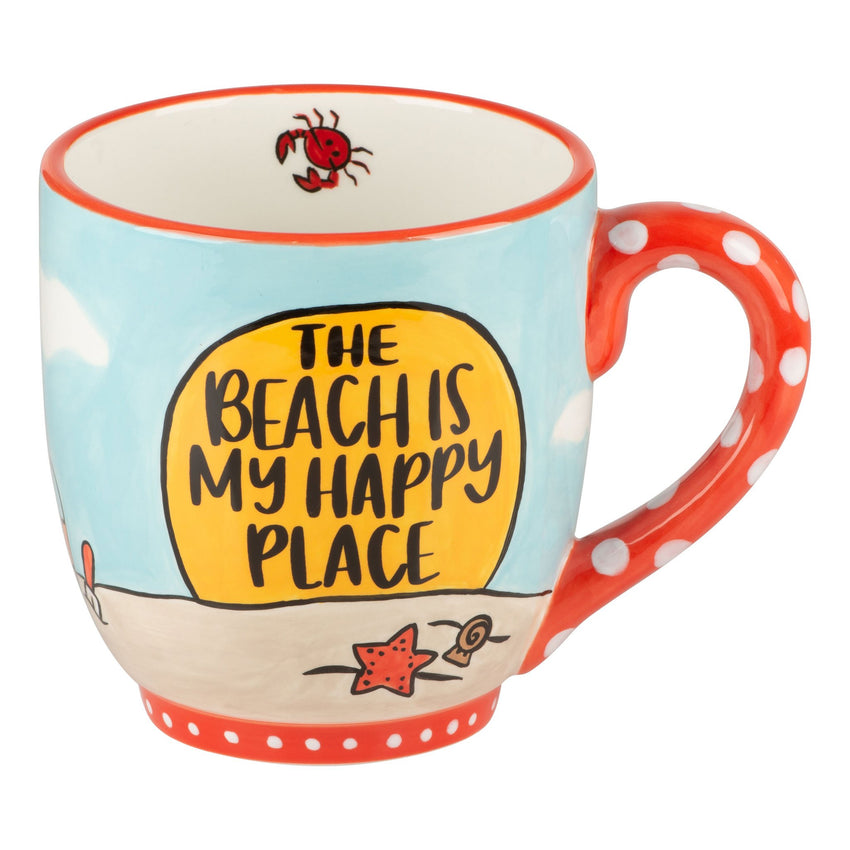 The Beach is My Happy Place Mug
