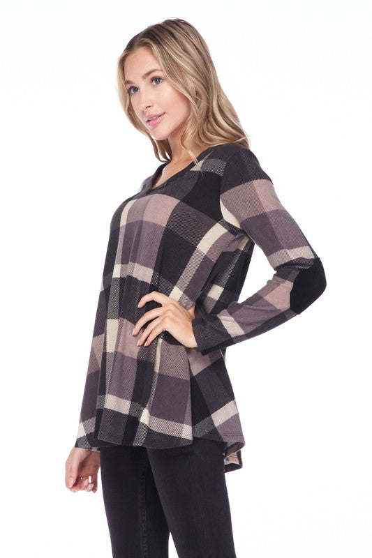Timeless Plaid Top