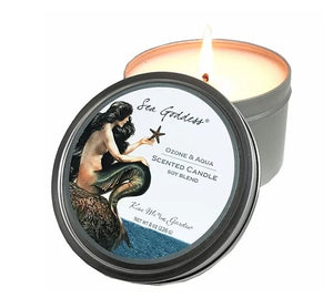 Sea Goddess Travel Candle
