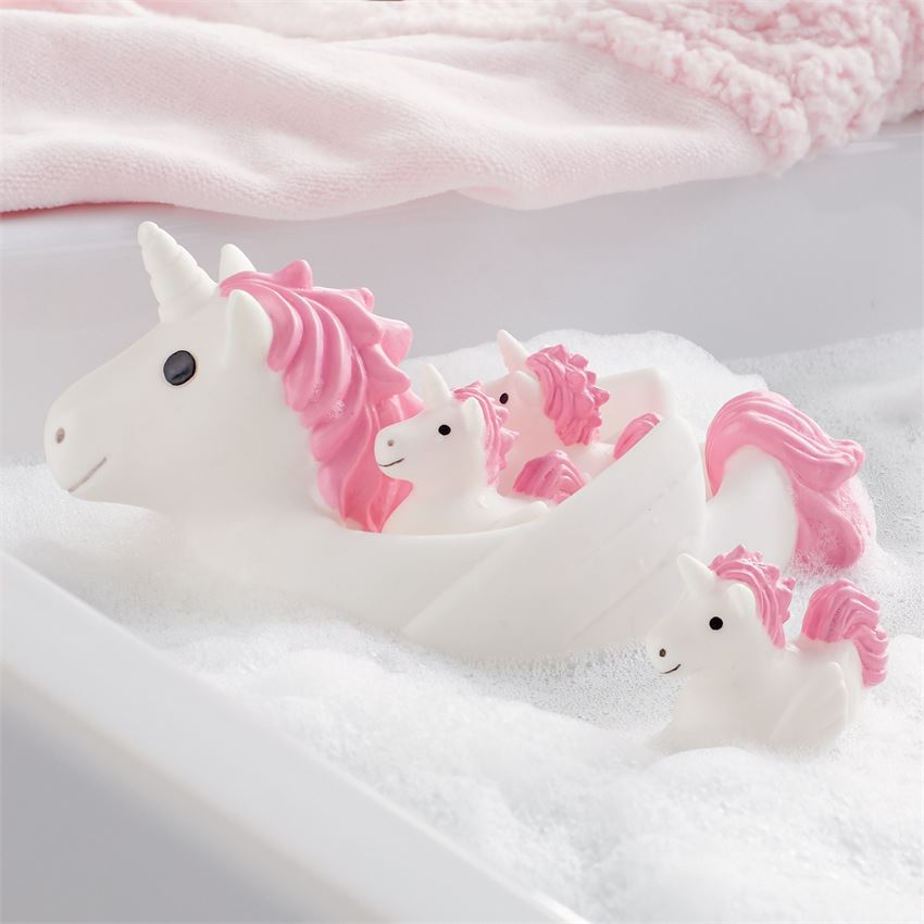 Unicorn Bath Toy Set