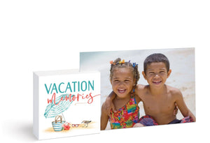 Vacation Memories Photo Frame